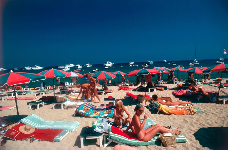 Beach At St. Tropez (Estate Stamped Limited Edition of 150)