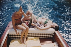 """Vuccino And Rava"" By Slim Aarons, Estate Stamped & Limited, Multiple Sizes"
