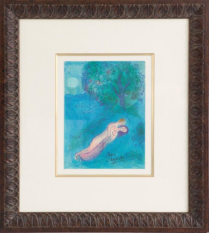 "Marc Chagall, ""Daphnis and Chloé"""