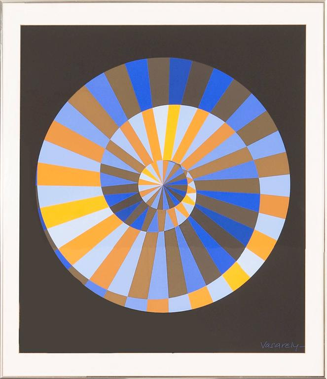"Victor Vasarely, ""Olympia"""