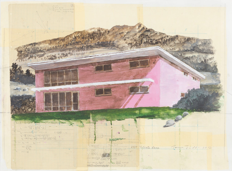 Tom Judd - SWIM CLUB, Painting For Sale at 1stdibs