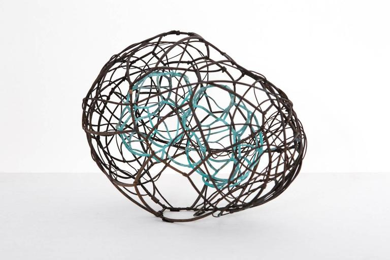 W / 069 - Abstract Geometric Sculpture by Frank Connet