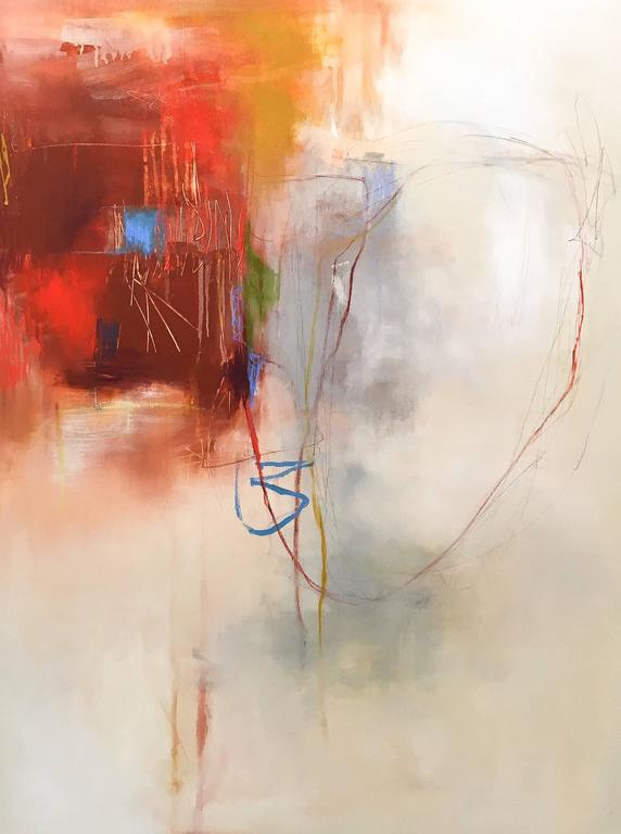 Sara Pittman Beneath Your Feet Painting At 1stdibs