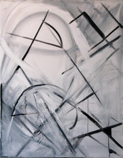 Black and White (Abstract Geometric)