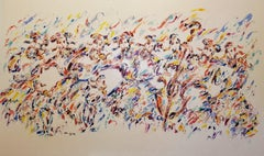 Happy Song (Judaica/Abstract)