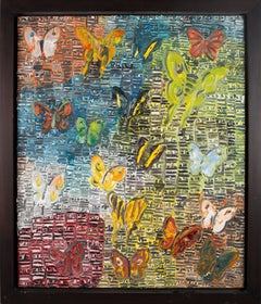 Untitled (Textured Butterflies)