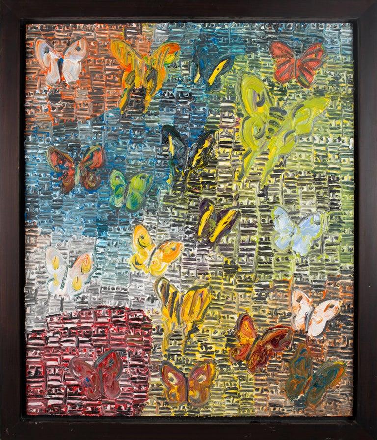 Untitled (Textured Butterflies)