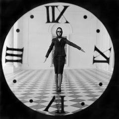 Viktoria Through Clock, Rhinebeck, NY
