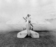 Ingrid on Plane, Rhinebeck, NY