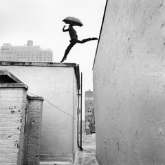 Reed Leaping Over Rooftop, New York