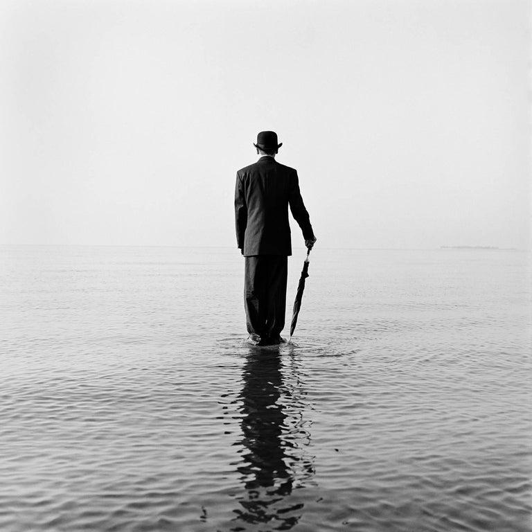 David Standing on Water no. 1, Sherwood Island, CT