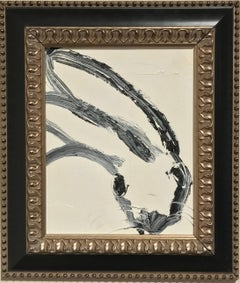 Untitled (Black and White Bunny)