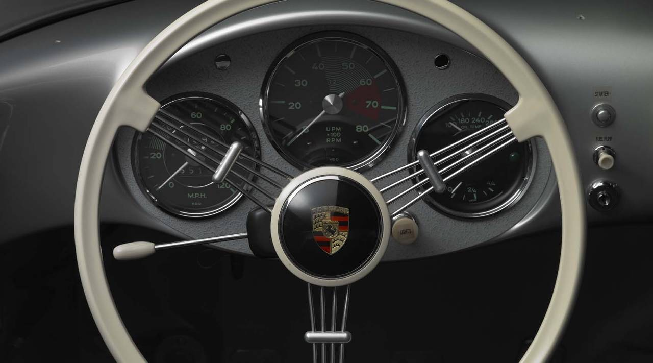 Michael Furman 1955 Porsche 550 Spyder Steering Wheel And Dash At 1stdibs