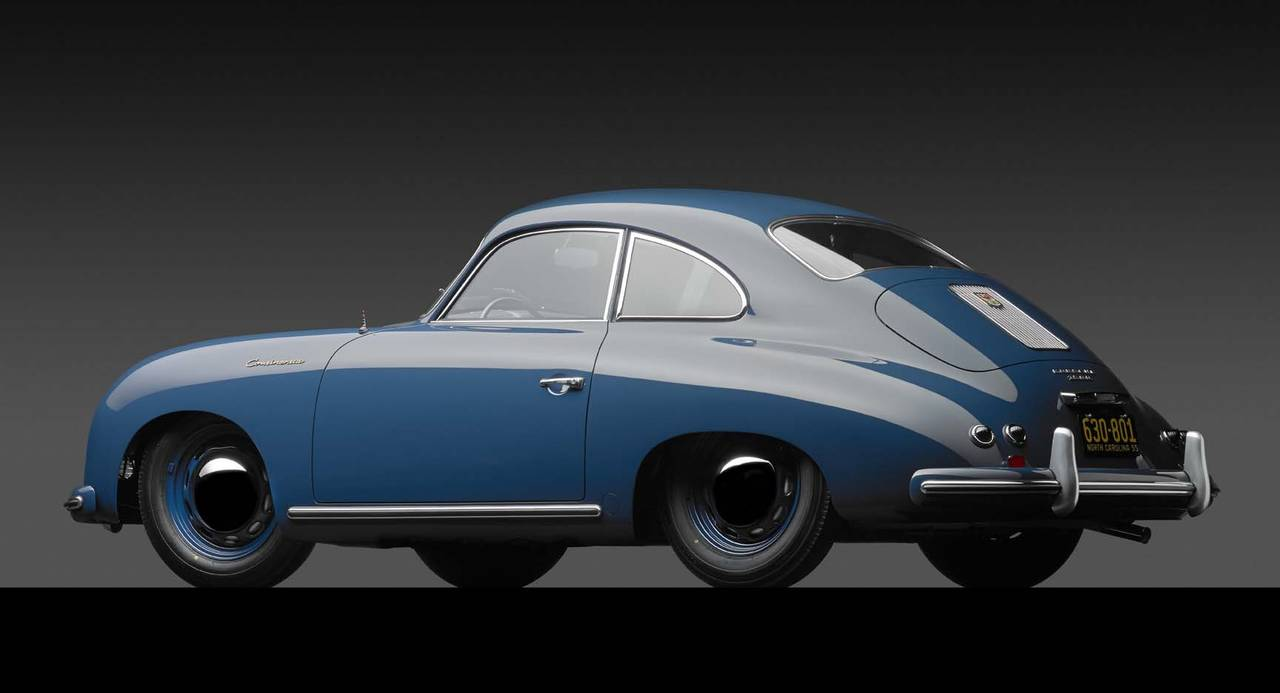 Michael Furman 1955 Porsche 356 Continental Photograph