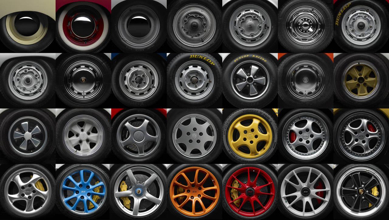 Michael Furman 60 Years Of Porsche Wheels Photograph