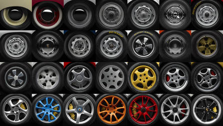 60 Years of Porsche Wheels