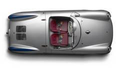 1955 500 Porsche Spyder Overhead