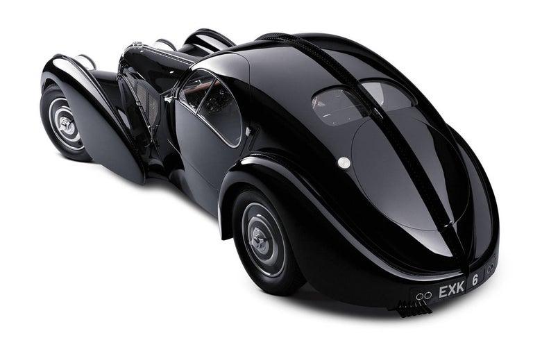 1938 Bugatti Type 57SC #57591, Atlantic - Photograph by Michael Furman