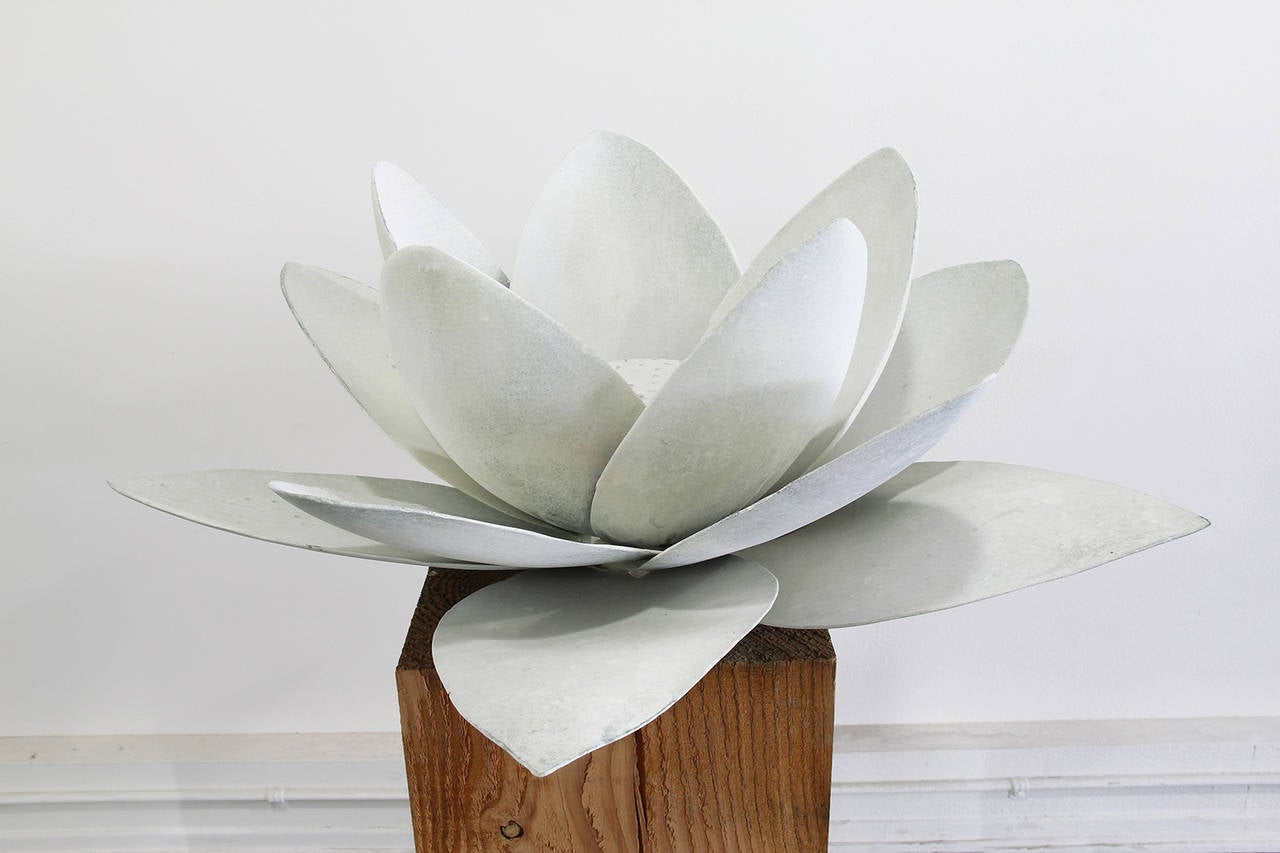 Gwynn Murrill Lotus Flower 3 Sculpture For Sale At 1stdibs