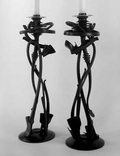 Nebuli Candle Holders