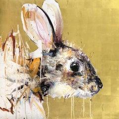 Gold Leaf Rabbit