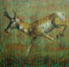 Animal Painting #08-5908 (antelope)