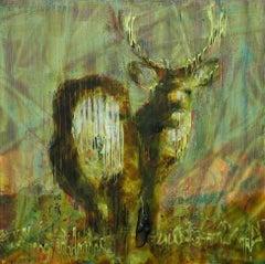 Animal Painting #09-6574 (deer)