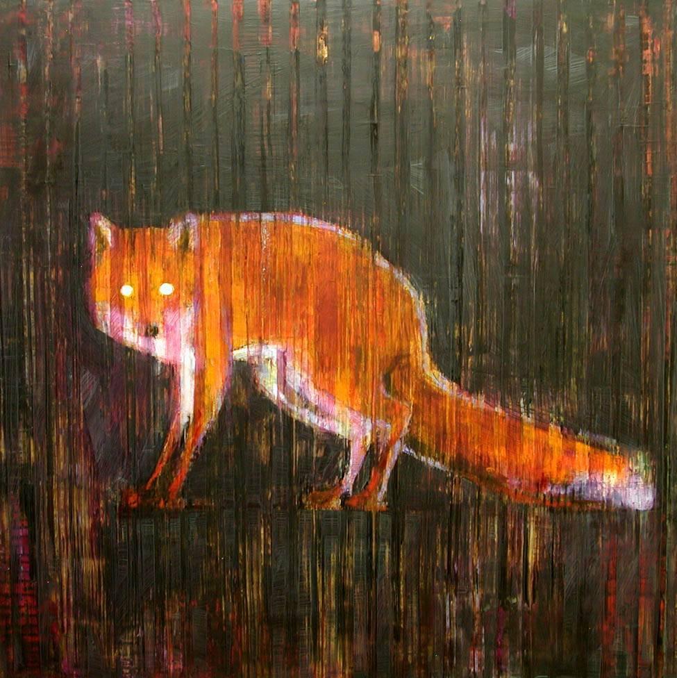 Animal Painting  10-6704 (Red Fox)