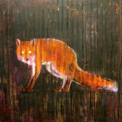 Animal Painting  10-6704 (Red Fox)