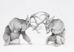 Stags with Gorillas