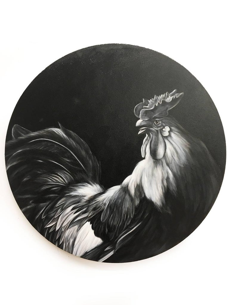 Rooster (after Hondecoeter)
