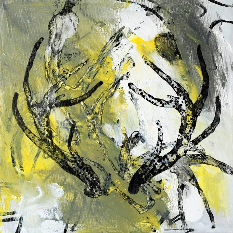 Rocky Hawkins Abstract Painting - Antler 5