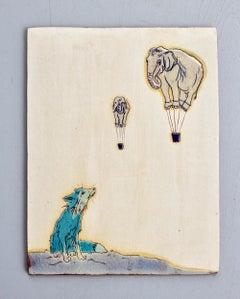 Fox and Elephant Balloons