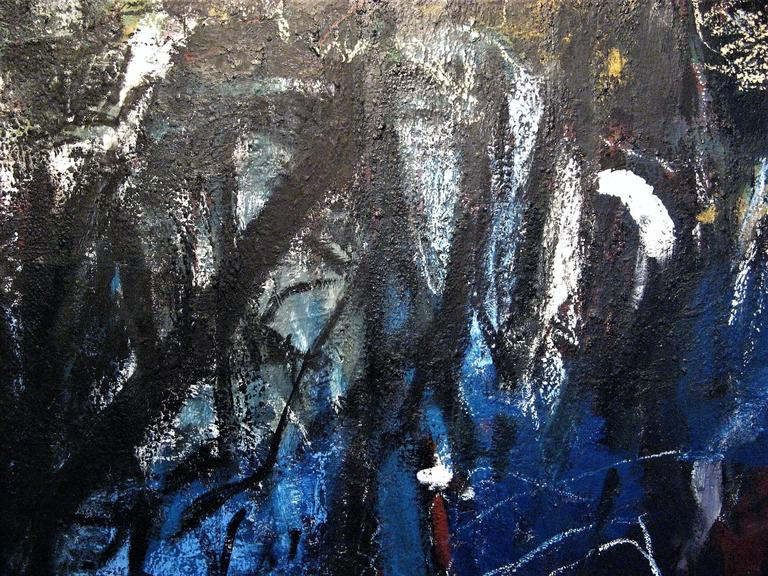 Reflection - Abstract Expressionist Painting by Iris Osterman
