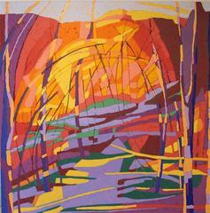 Marcia Wise, 'Inner Sanctum', oil, Southwestern series in warm tones
