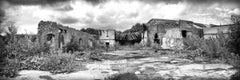 """""""The Factory"""", photograph, black and white, metal print, abandoned, landscape"""