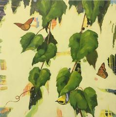Monarchs and Warbler