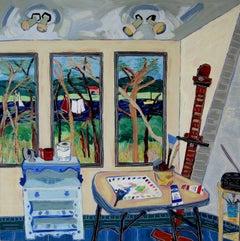 Studio View Towards the Marsh
