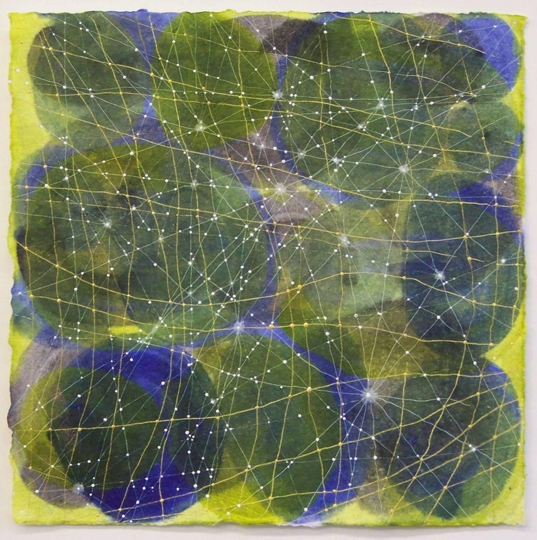 Denise Driscoll Abstract Painting - Inner Garden 10
