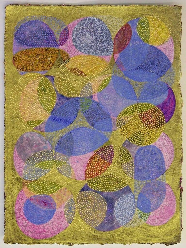 Inner Garden 4 - Mixed Media Art by Denise Driscoll