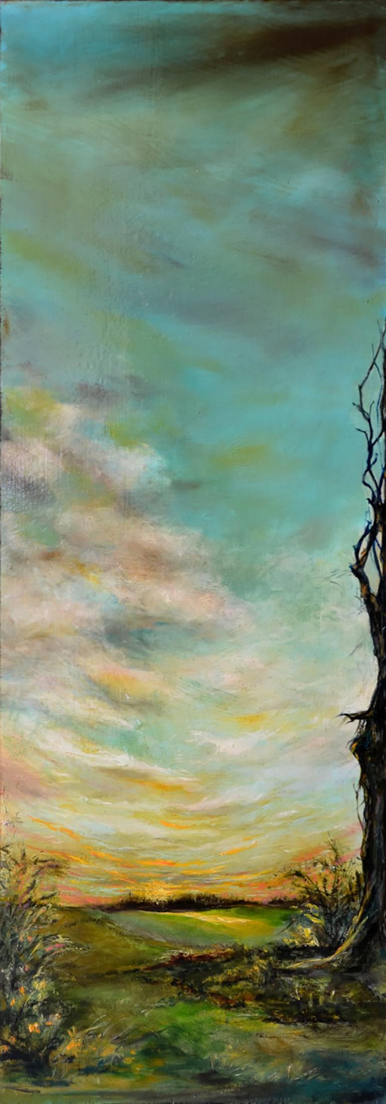 Anita Loomis Landscape Painting - Spring Rising