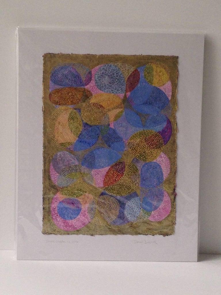 Inner Garden 4 - Contemporary Mixed Media Art by Denise Driscoll
