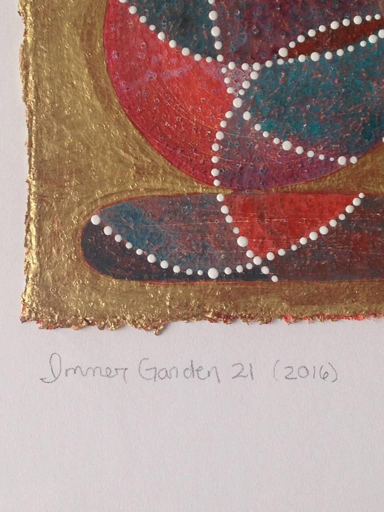 Inner Garden 21 - Contemporary Painting by Denise Driscoll