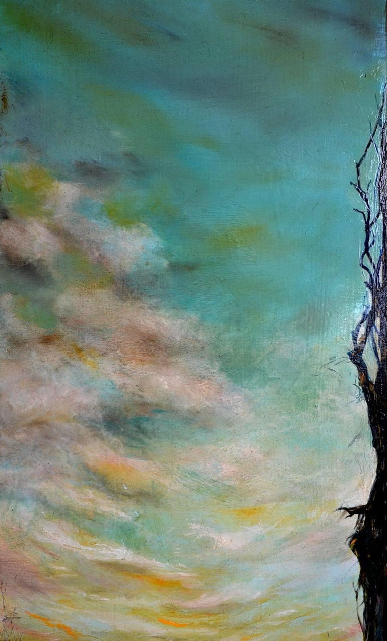 Spring Rising - Contemporary Painting by Anita Loomis