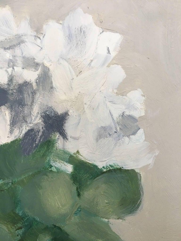James Wilson Rayen Flower 6 White Flower Painting For Sale At
