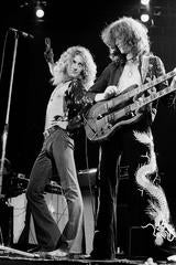 Robert Plant & Jimmy Page, Led Zeppelin, 1975