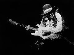 Jimi Hendrix, 1968 by Steve Banks