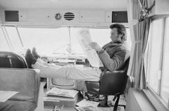 Clint Eastwood, 'Joe Kidd' film set, 1972 by Terry O'Neill