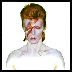 David Bowie, Aladdin Sane Classic, Eyes Closed, by Brian Duffy, 1973