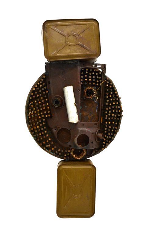 Untitled Mask 11 by Gonçalo Mabunda / Contemporary African Mask